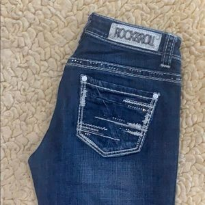 Rock & Roll Rival Low Rise Jeans 27x34